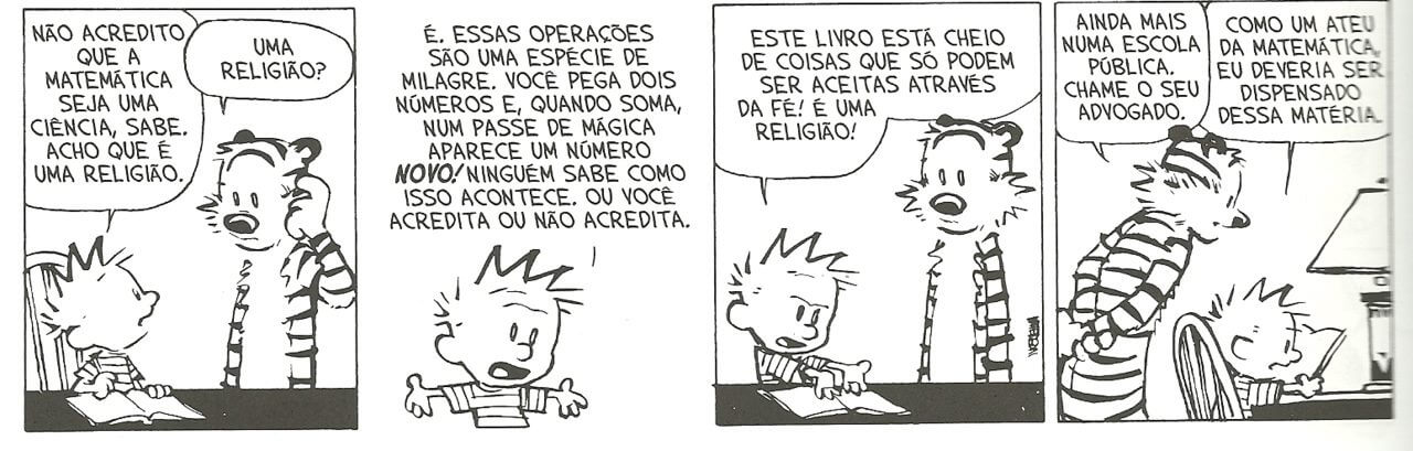 Matemática é religião