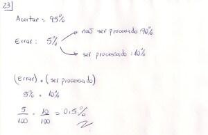 questão 23 ACAFE 2013-1